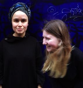 Sara Ludvig and Ragnhild Elisabeth